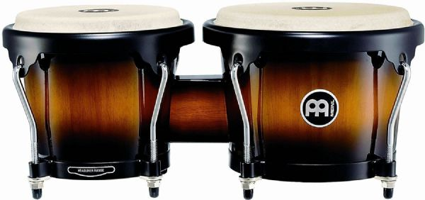 Meinl Percussion 6 3/4-inch and 8-inch Bongo - Vintage Sunburst - HB100VSB